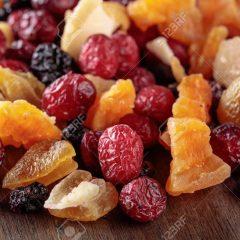 Baies / fruits secs/ fruits confits